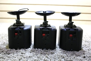 USED SET OF 3 SURROUND SOUND CEILING RV SPEAKERS FOR SALE