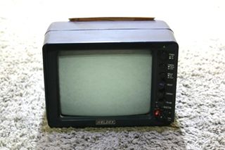 USED WELDEX WDRV-3467M 7 INCH B/W 3 VIEW RV MONITOR WITH AUDIO FOR SALE