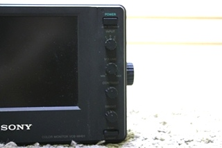 USED MOTORHOME VCB-MHD1 SONY COLOR MONITOR FOR SALE