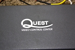 USED RV QUEST QS0503 VIDEO CONTROL CENTER FOR SALE
