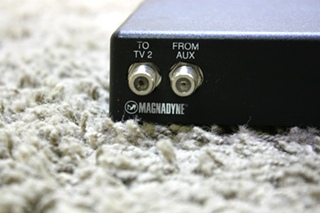 USED VCS-6 MAGNADYNE RV TV SWITCH BOX FOR SALE