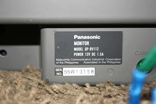 USED PANASONIC GP-RV112 MONITOR MONITOR FOR SALE