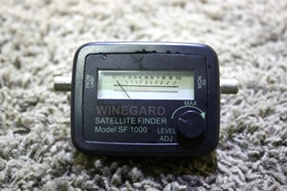 USED RV WINEGARD SF 1000 SATELLITE FINDER FOR SALE