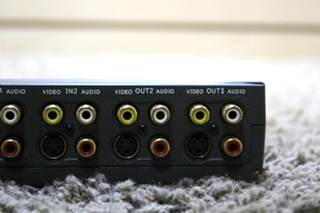 USED RV AUDIO/VIDEO TV SWITCH BOX FOR SALE