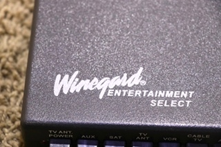 USED MOTORHOME VS-0503/5312 WINEGARD TV SWITCH BOX FOR SALE