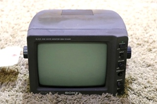 USED SONY BLACK AND WHITE SSM-721AMR RV MONITOR FOR SALE