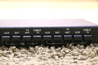 USED WINEGARD ENTERTAINMENT SELECT VS-0503/5312 MOTORHOME TV SWITCH BOX FOR SALE
