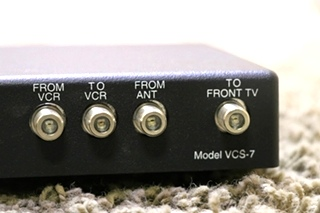 USED VCS-7 MAGNADYNE MOTORHOME TV SWITCH BOX FOR SALE