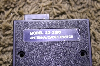USED MOTORHOME ANTENNA/CABLE SWITCH 32-3210 FOR SALE