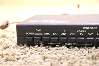 USED MOTORHOME VS-0604/6412 WINEGARD AMPLIFIED VIDEO DISTRIBUTION SWITCH FOR SALE