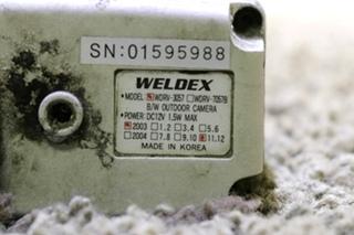 USED RV WDRV-3057 WELDEX B/W OUTDOOR CAMERA FOR SALE