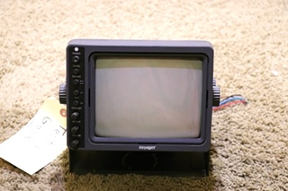 USED RV VOM-783CT VOYAGER B/W MONITOR MOTORHOME PARTS FOR SALE