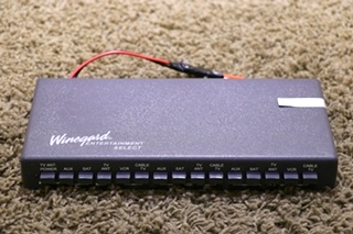 USED RV VS-0503/5312 WINEGARD ENTERTAINMENT SELECT TV SWITCH BOX MOTORHOME PARTS FOR SALE