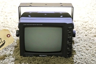 USED SSM-721AMR RV SONY BLACK AND WHITE MONITOR MOTORHOME PARTS FOR SALE