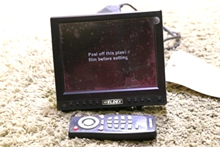 used motorhome weldex wdrv-6800m tft lcd rv monitor rv parts for sale