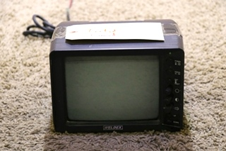 USED RV WDRV-3036M WELDEX 7 INCH B/W MOTORIZED REAR VIEW SYSTEM MONITOR MOTORHOME PARTS FOR SALE