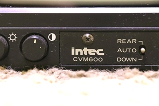 USED RV INTEC CAR VISION CVM600 MONITOR FOR SALE