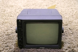 VOM-783CT VOYAGER 7 INCH B/W MONITOR USED RV PARTS FOR SALE