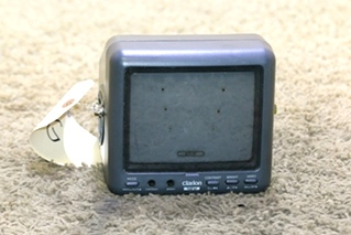 USED CLARION 12V MONITOR MODEL CJ-750E FOR SALE