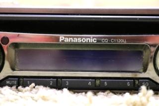 USED CQ-C1120U PANASONIC CD PLAYER RV PARTS FOR SALE